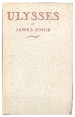 James Joyce, Ulysses, 1932 (first Odyssey Press edition)